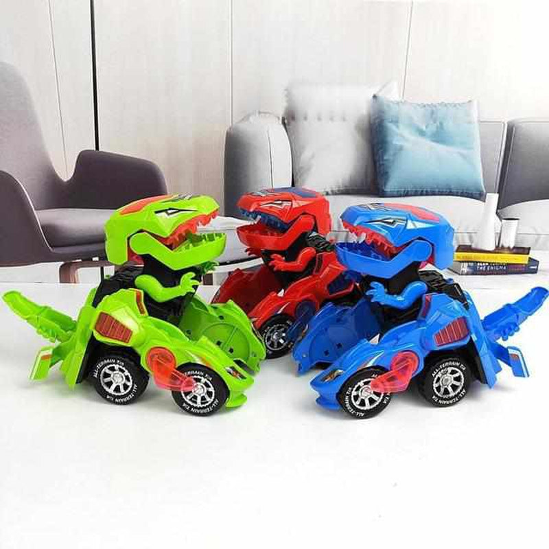 Transforming Dinosaur LED Car-Koopje.com