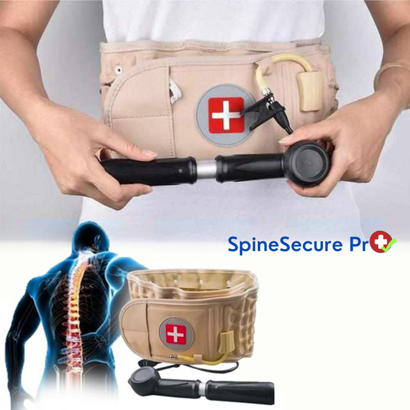 SpineSecure Pro™ - Anti-Rugpijn Decompressieriem-Koopje.com