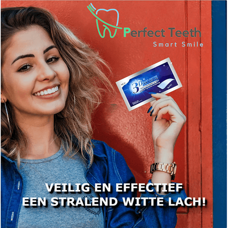 Perfect Teeth™ - 3D Ultra Whitening Strips-Koopje.com