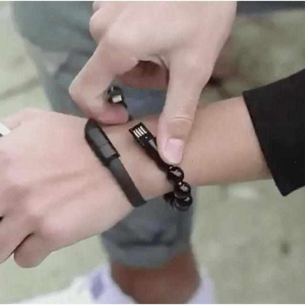 Mobile Phone Straps - Trendy USB Oplaad Armband [Android & IOS]