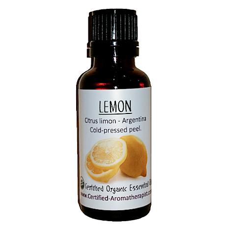 Lemon Essential Oil - Om Air Escapes