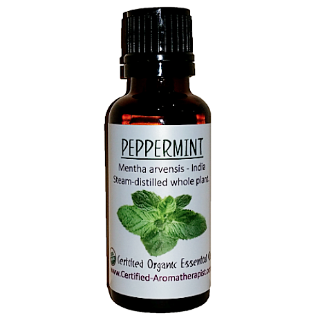 Peppermint Essential Oil - Om Air Escapes