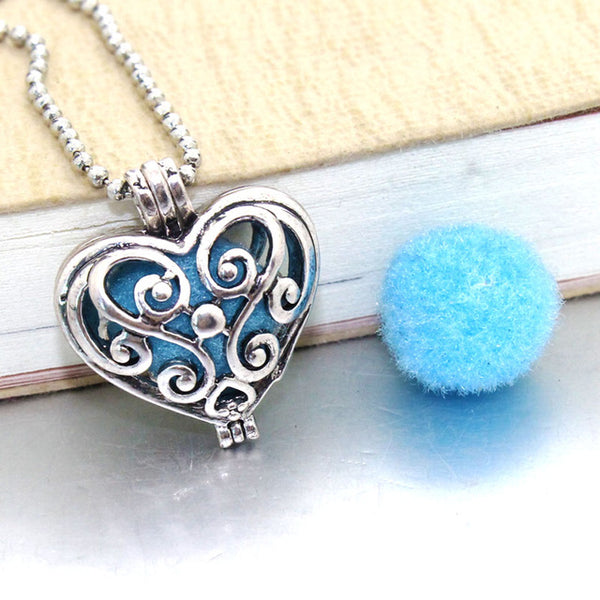 True Love Oil Diffuser Necklace - Om Air Escapes