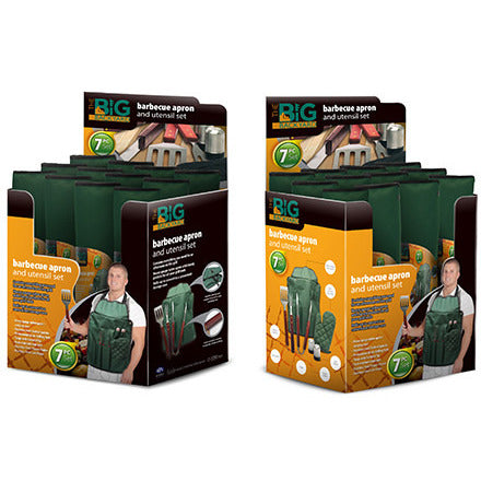 7pc Barbeque Apron Set