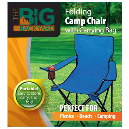 Folding Chair w/carry bag (blue)
