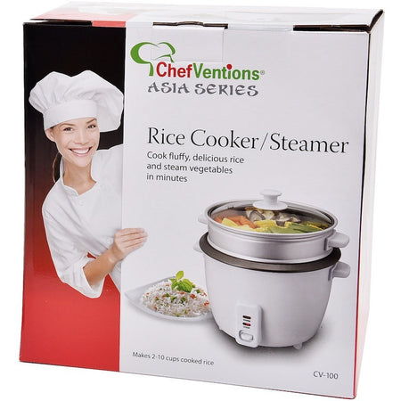 RICE COOKER AND STEAMER SET