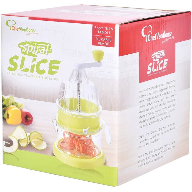 SPIRAL SLICER WITH SUCTION BASE