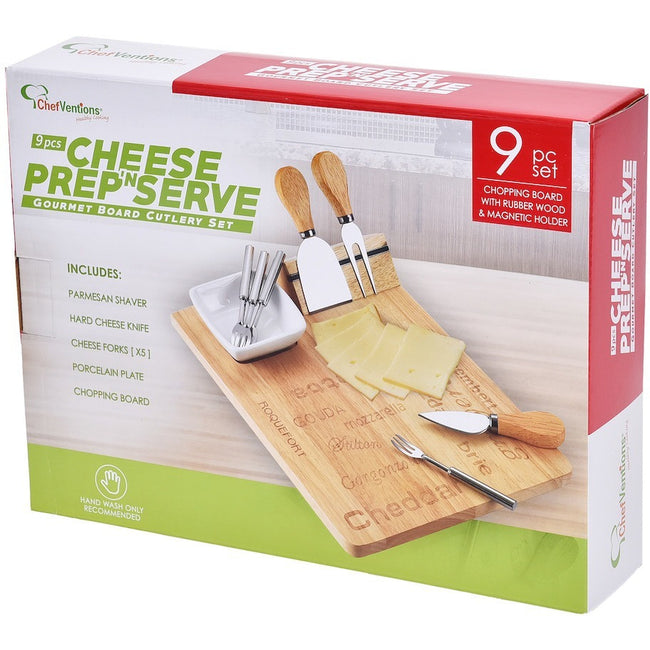 9 PIECE CHEESE SET