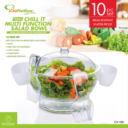MULTI FUNCTION SALAD BOWL ON ICE