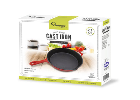 "10.25"" CAST IRON FRYING PAN"