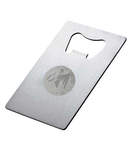 Bottle Opener with AUSA emblem