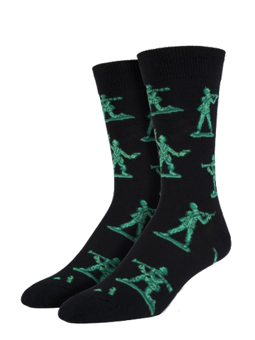 Men's Army Men Sock