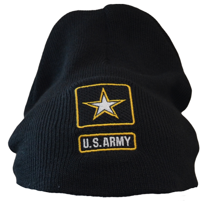 Beanie with Army seal