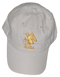 Baseball Cap (Beige) with AUSA Emblem (A925)