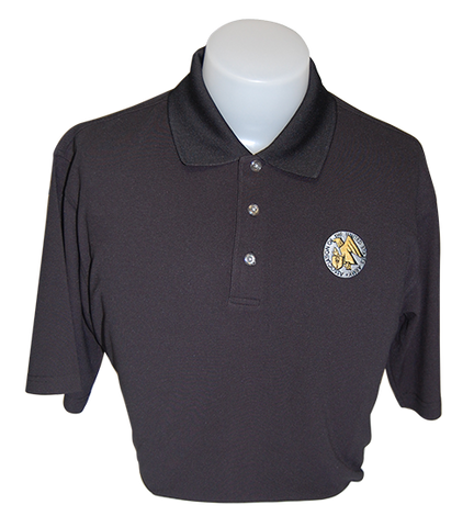 Men's Golf Shirt with AUSA Emblem - Small Only - Discontinued