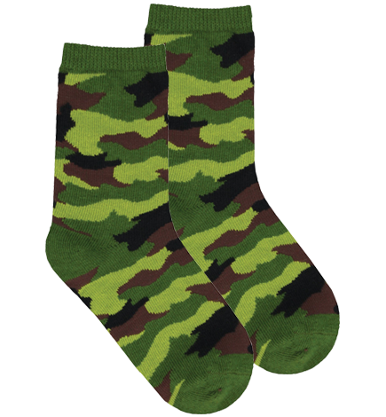 Camouflage Socks for Kids (S107)