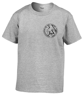 Childs Gray T-shirt with AUSA Emblem