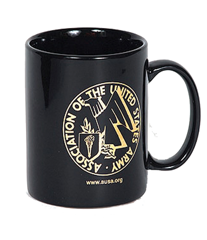 Coffee Mug with AUSA Emblem