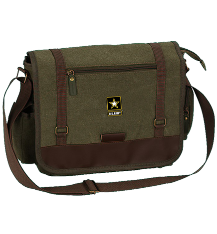 Faculty Messenger Bag with Army logo