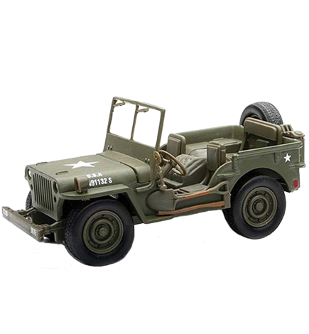 Jeep Willy - U.S. Military Collectible (J101)