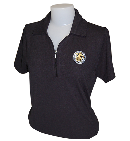 Women's Golf Shirt with AUSA Emblem - Limited Sizes - Discontinued