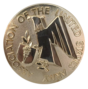 Medallion with AUSA Emblem (Silver/Gold)