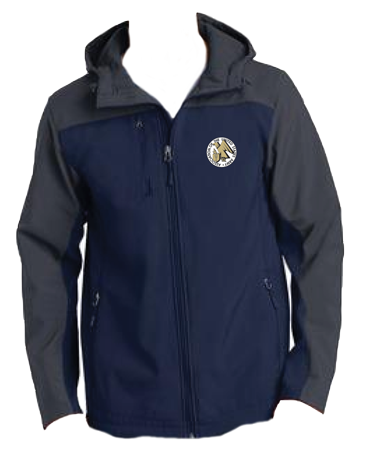 Hooded Core Soft Shell Jacket with AUSA Emblem