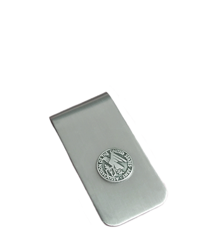 AUSA Money Clip - Pewter  (M104)