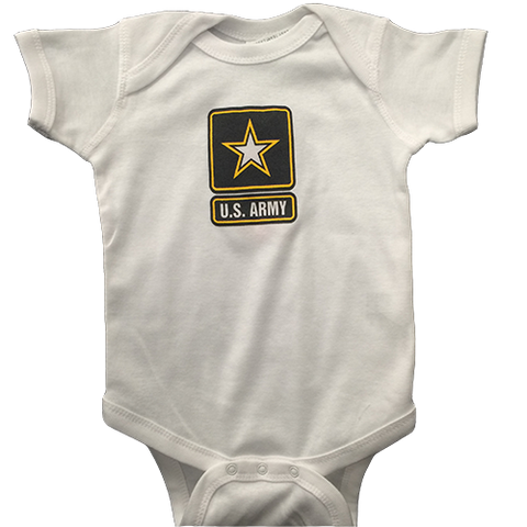 Infant Onesie with US ARMY Logo