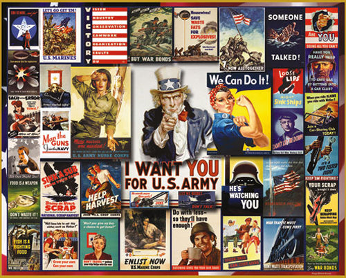 World War II Posters Puzzle