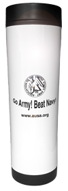 14oz Stainless Steel Travel Tumbler - Go Army! Beat Navy!