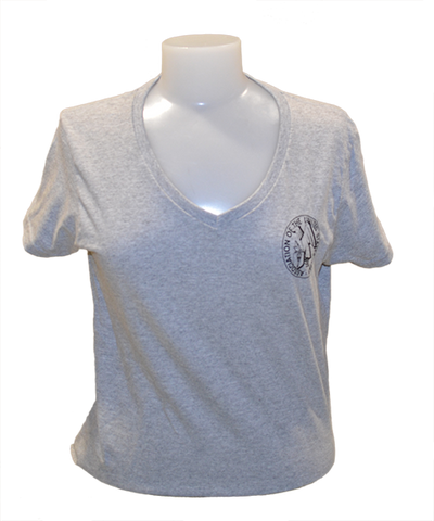 Women's Tee with AUSA Emblem