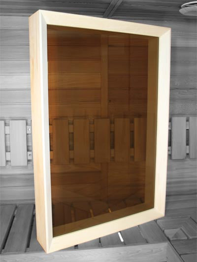 Superior Sauna Window Option