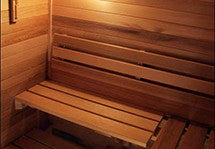 Superior Sauna Custom Backrest