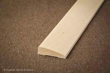 Superior Sauna Beveled Basswood Door Trim