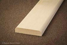Superior Sauna Basswood Door Trim