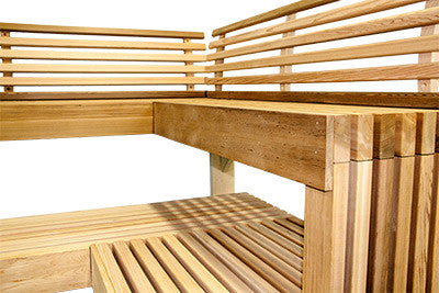 Custom Sauna Benches Superior Saunas
