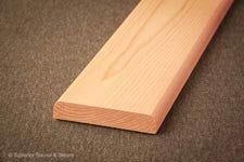 Superior Sauna Cedar Door Trim