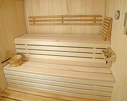 Superior Sauna Custom Sauna Bench