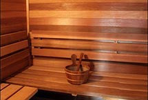 Superior Sauna Red Cedar Paneling