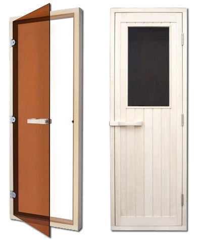Superior Sauna DIY Kit Door Choices