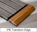 Superior Sauna IPE Edger Transition Tile
