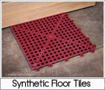 Superior Sauna Synthetic Floor Tiles