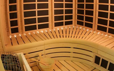 Custom Infrared Sauna Example