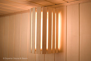 Sauna Wall Light and Shade Option
