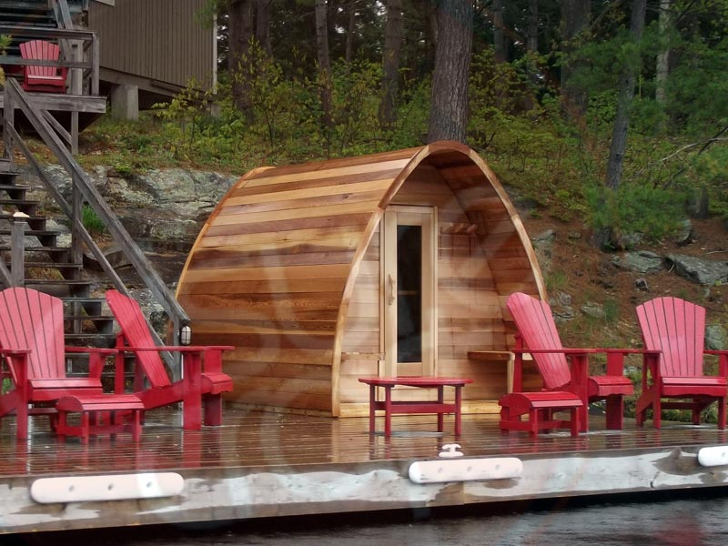 OUTDOOR SAUNA KITS