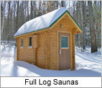 Superior Sauna Full Log Saunas