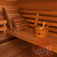 Superior Sauna Pod Outdoor Sauna Benches
