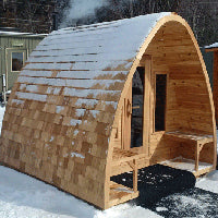 Superior Sauna Pod Outdoor Sauna Triple Layer Roof