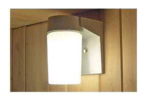Included wall light